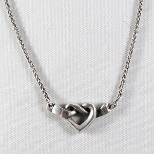DAMAGED JAMES AVERY Heart Knot Necklace